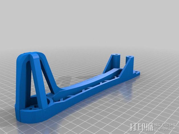 Spyda 号飞行器腿 3D模型  图1