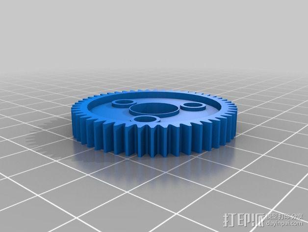 Traxxas遥控赛车 正齿轮 3D模型  图2