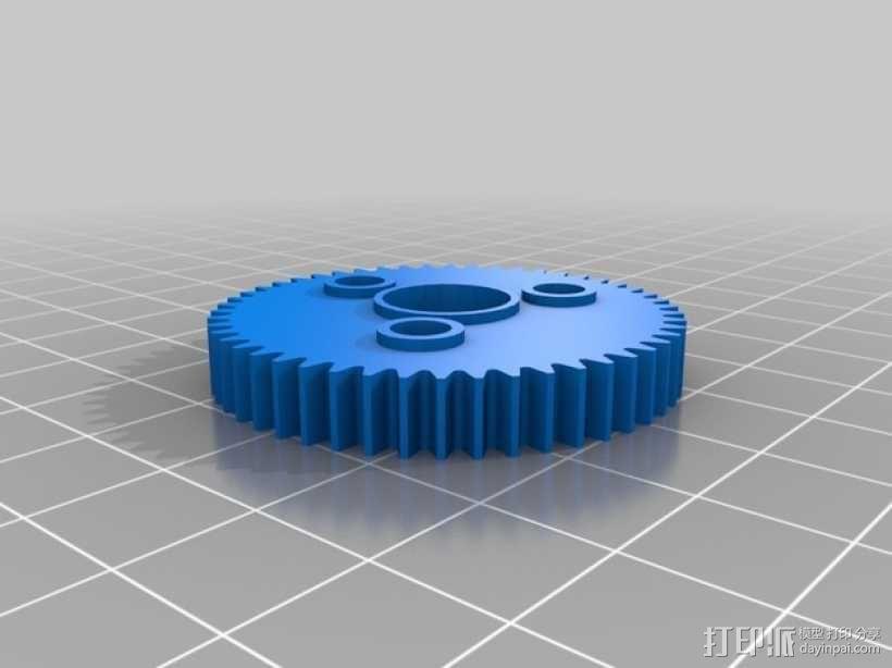 Traxxas遥控赛车 正齿轮 3D模型  图1
