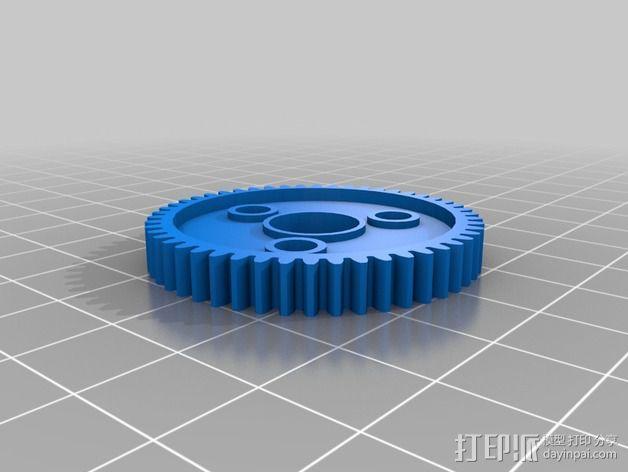 Traxxas遥控赛车 正齿轮 3D模型  图4
