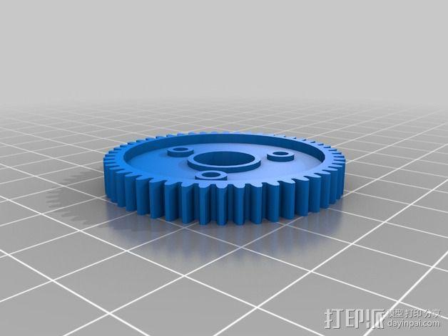 Traxxas遥控赛车 正齿轮 3D模型  图5