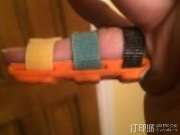 手指夹板 3D模型  图5