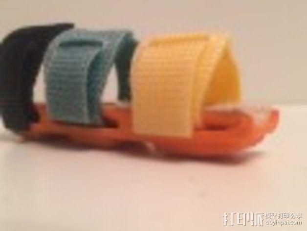 手指夹板 3D模型  图3