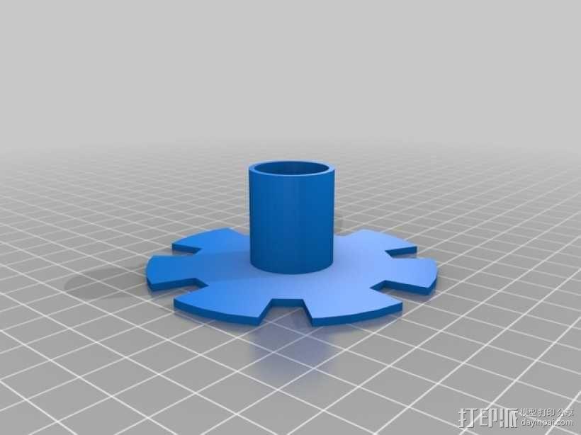 风力涡轮机 3D模型  图7