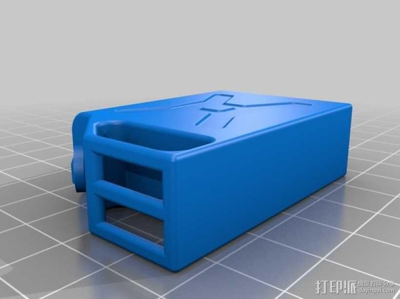 汽油桶 3D模型  图2