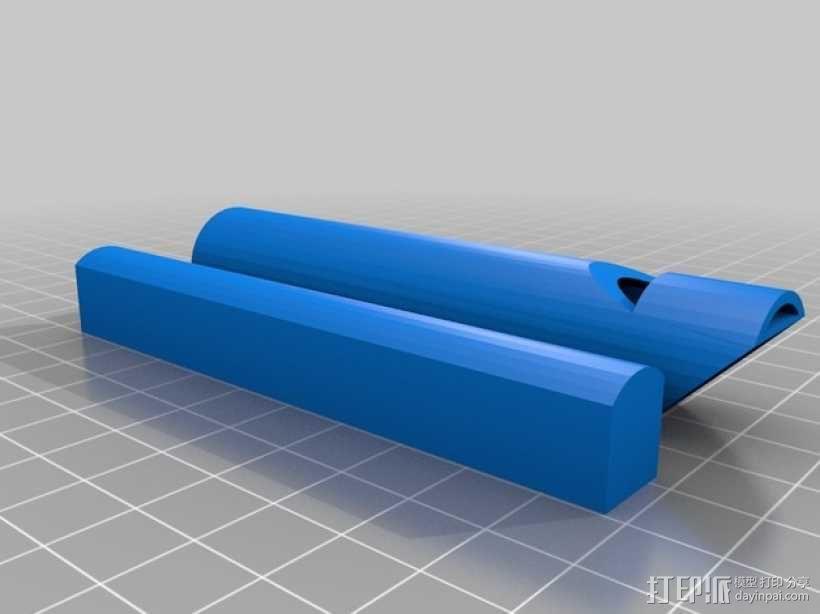 溜溜笛 伸缩笛 3D模型  图3