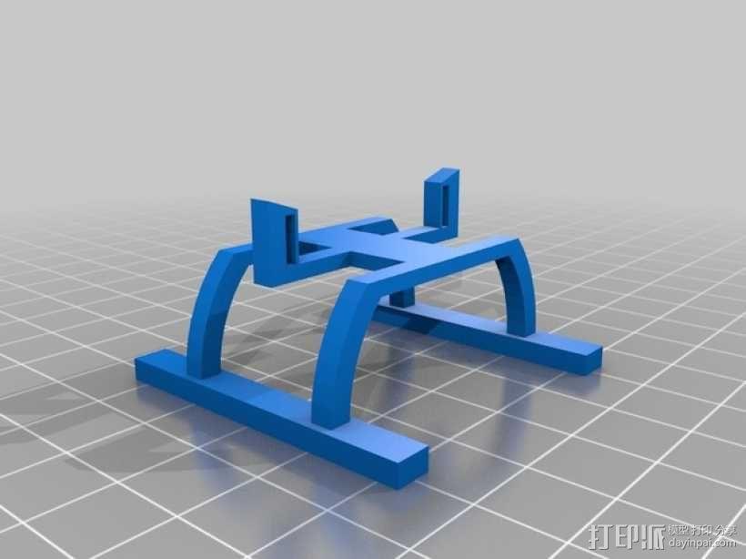 Hubsan x4四轴飞行器 3D模型  图2