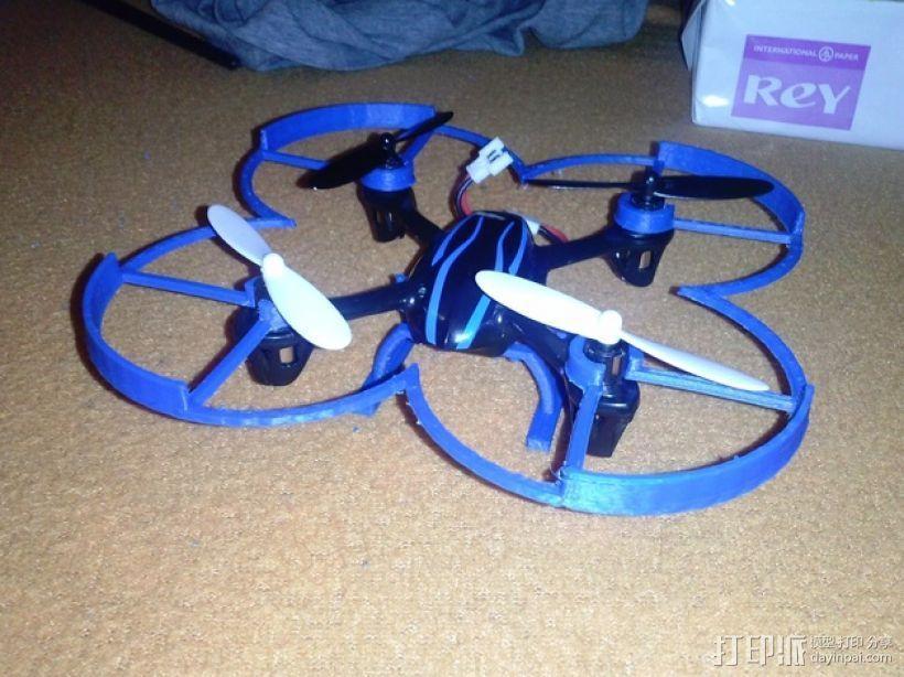 Hubsan x4四轴飞行器 3D模型  图1