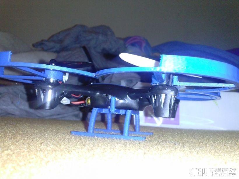 Hubsan x4四轴飞行器 3D模型  图3