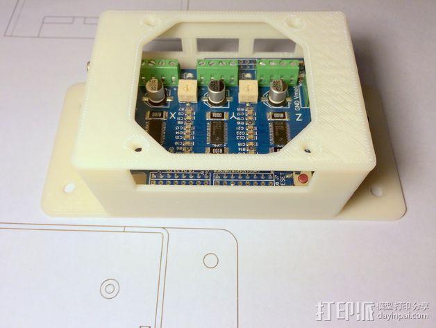 CNC控制器外壳 3D模型  图3