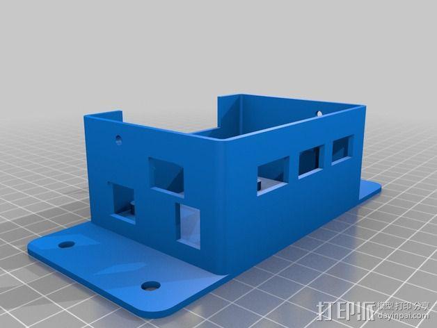 CNC控制器外壳 3D模型  图4