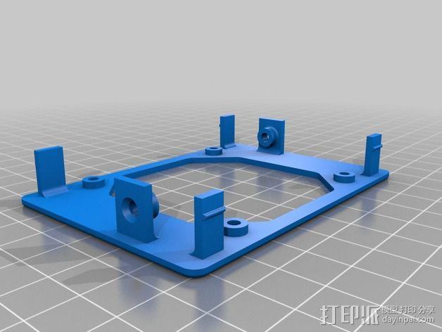 CNC控制器外壳 3D模型  图5