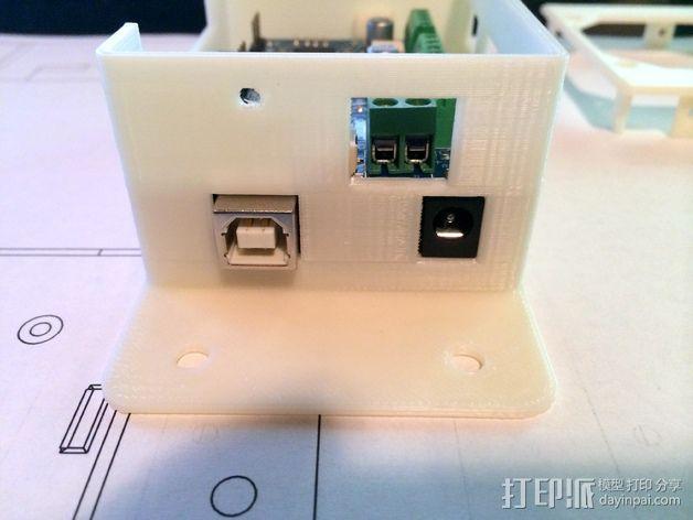 CNC控制器外壳 3D模型  图10