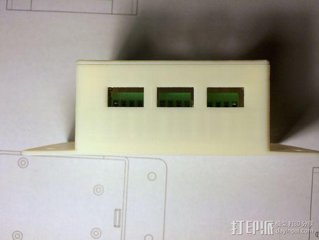 CNC控制器外壳 3D模型  图13