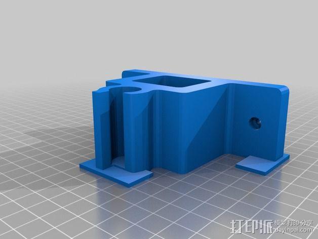 开锁装置 3D模型  图2