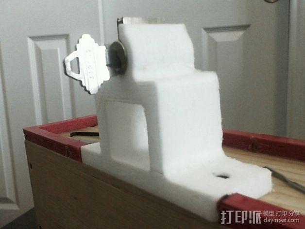 开锁装置 3D模型  图3