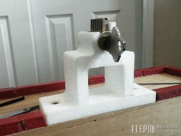 开锁装置 3D模型  图4