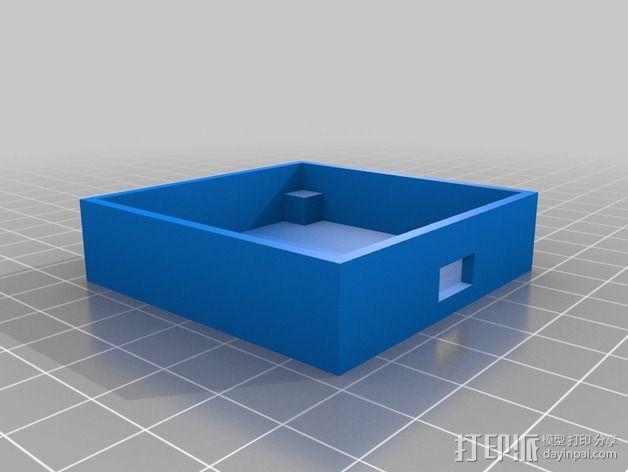 Ublox Neo GPS模块外壳 3D模型  图1
