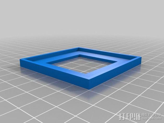 Ublox Neo GPS模块外壳 3D模型  图2