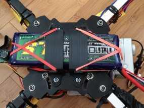 多轴飞行器 电池支架 3D模型