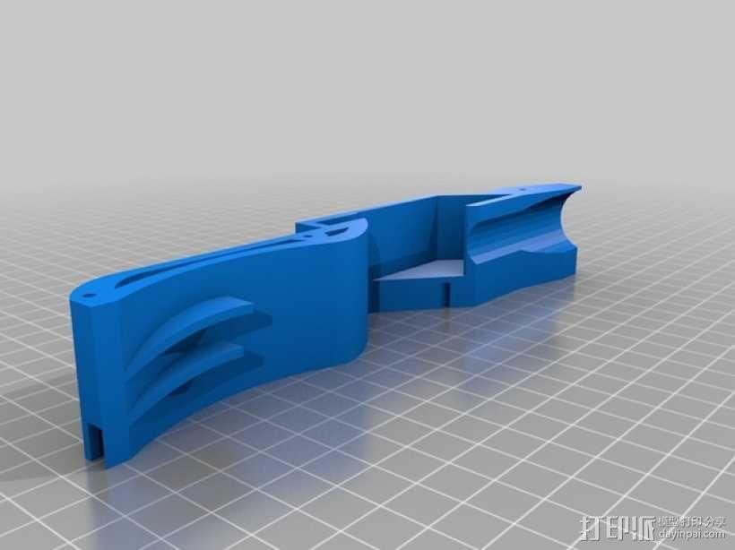BMW M3遥控车侧翼 3D模型  图2