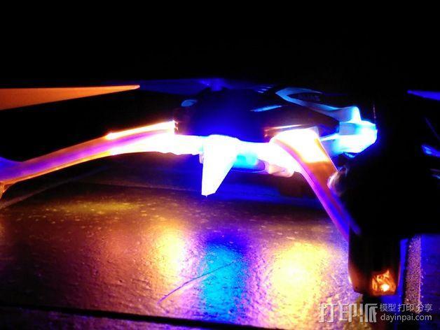 LED扩散器 3D模型  图1