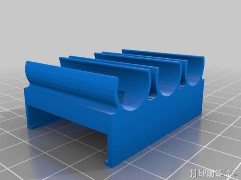 软管夹 3D模型  图2