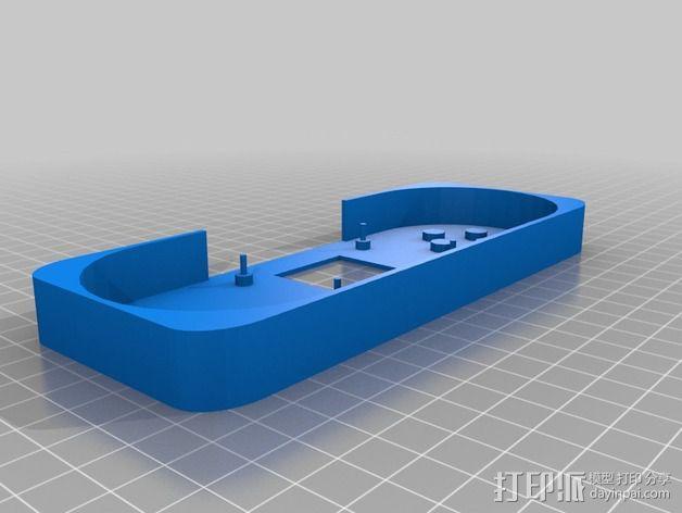 Arduino Esplora电路板外壳 3D模型  图3