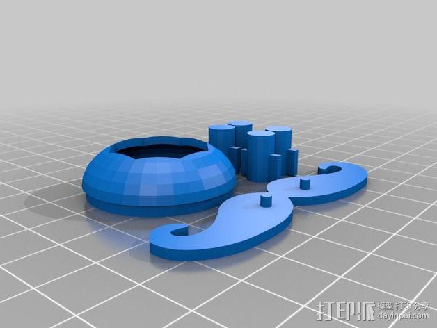 Arduino Esplora电路板外壳 3D模型  图4