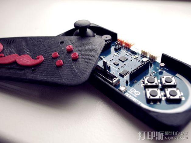 Arduino Esplora电路板外壳 3D模型  图5