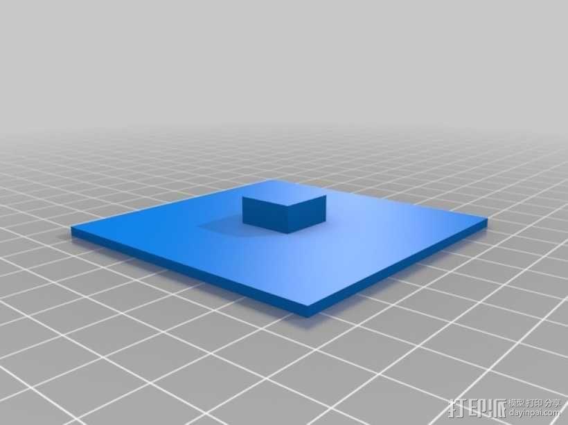 激光雕刻机 塑料零部件 3D模型  图4
