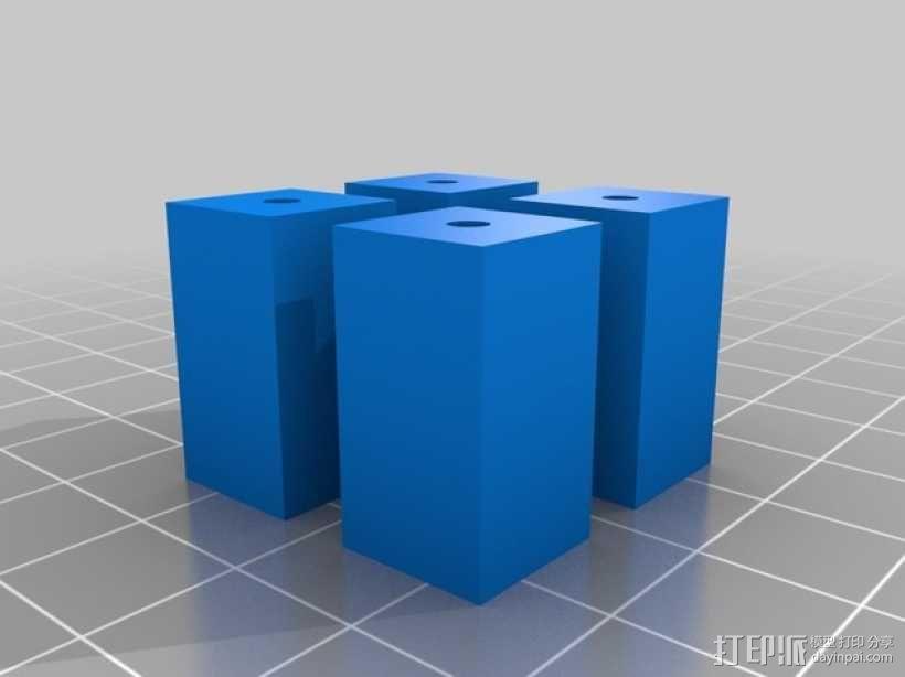 激光雕刻机 塑料零部件 3D模型  图5