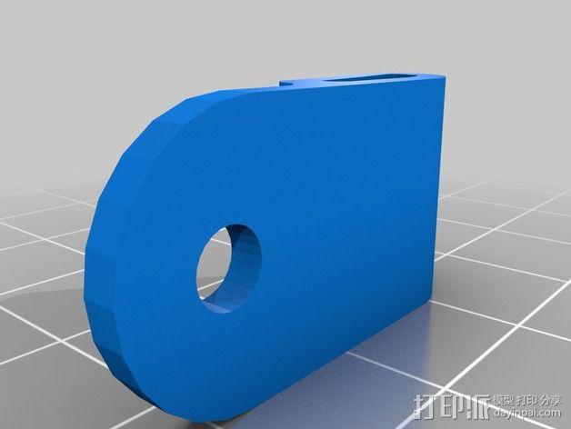 穿孔带  3D模型  图3
