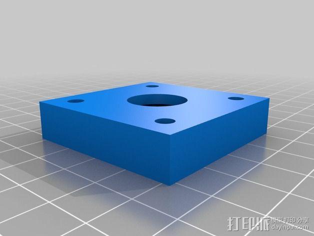608承轴外壳 3D模型  图3