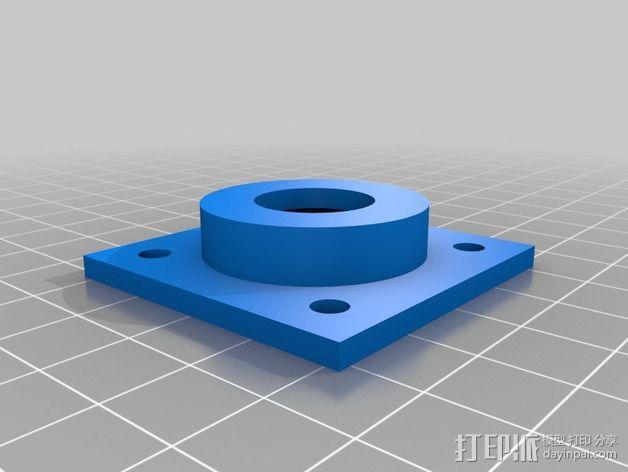 608承轴外壳 3D模型  图2