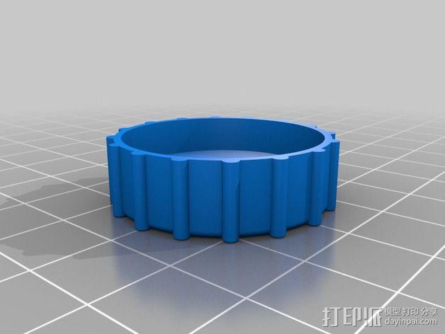 顶盖 3D模型  图2