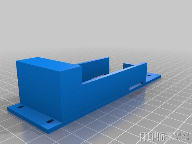 电池支座 3D模型  图2