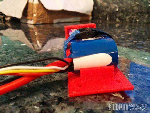 电池支座 3D模型  图4