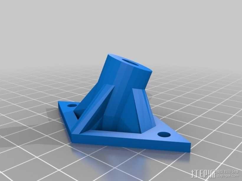 多轴飞行器 起落架 3D模型  图4