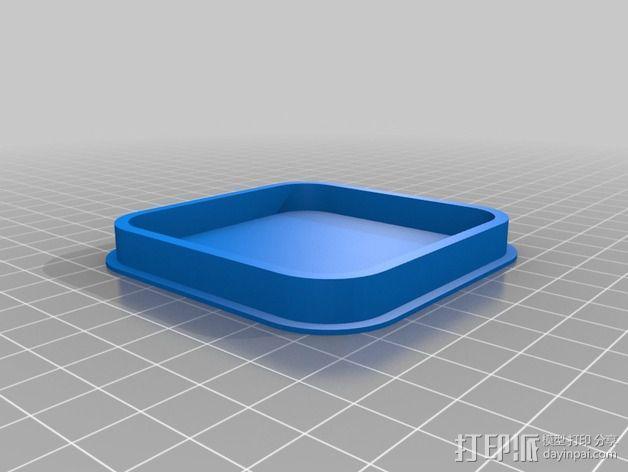 迷你LED摇头灯 3D模型  图7