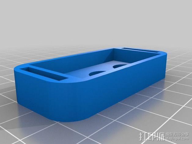 迷你LED摇头灯 3D模型  图6