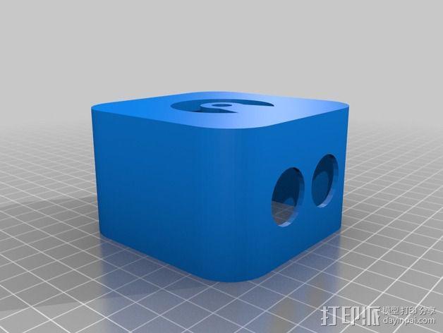 迷你LED摇头灯 3D模型  图8