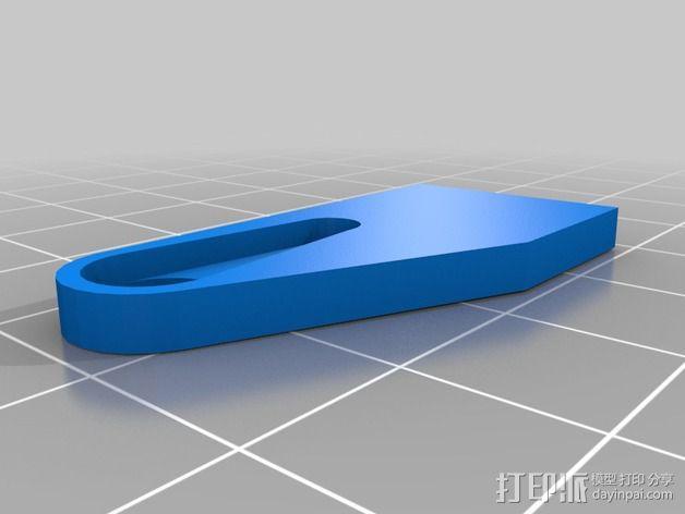 迷你LED摇头灯 3D模型  图9