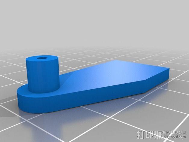 迷你LED摇头灯 3D模型  图10
