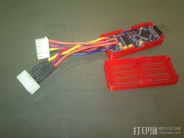 MinimOSD电路板外壳 3D模型  图4