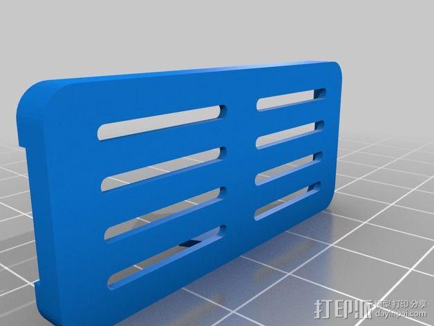MinimOSD电路板外壳 3D模型  图2