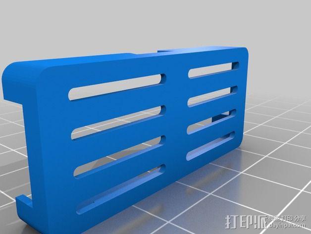 MinimOSD电路板外壳 3D模型  图3