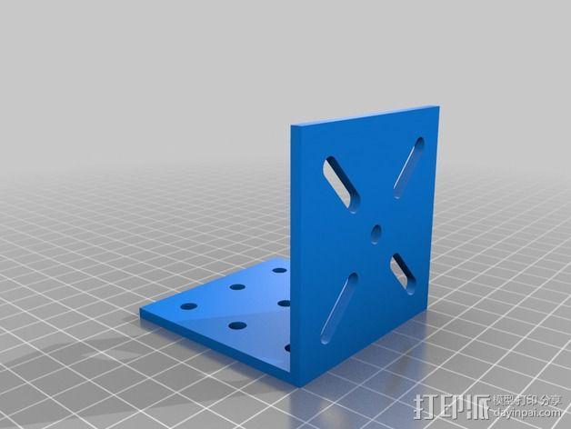 致动器支架 3D模型  图5