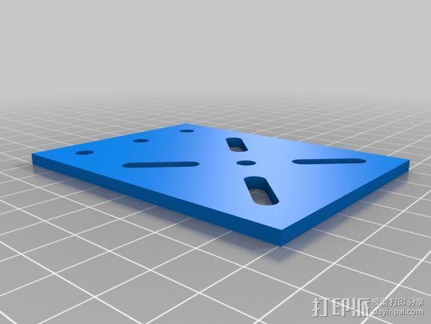 致动器支架 3D模型  图3