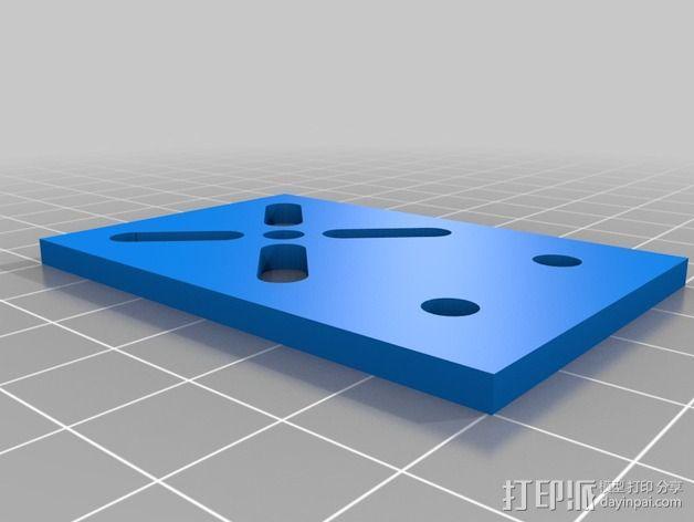 致动器支架 3D模型  图4